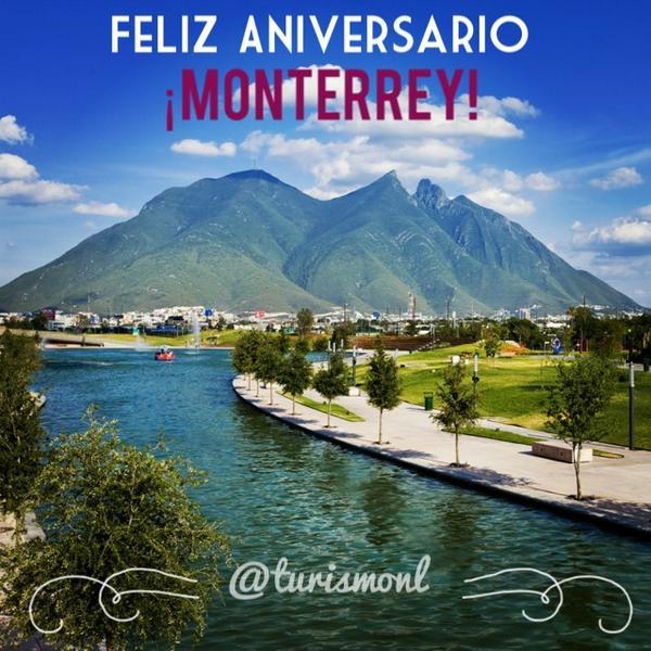 ¡Hoy celebramos el 418 Aniversario de Monterrey! #OrgulloRegio #NLExtraordinario http://t.co/B2nIhSOC6r