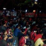 Suasana Nonton Bersama #MilanJuve @ Indomart Point Bekasi #ForzaMilan cc: @MilanistiOrId http://t.co/vT9vBmJJgs