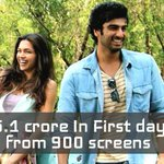 RT @Team_Arjun: #FindingFanny is the First Ever movie to cross 5 crores mark in 1st day at Boxoffice  with 900 screens  Source-Koimoi http:…
