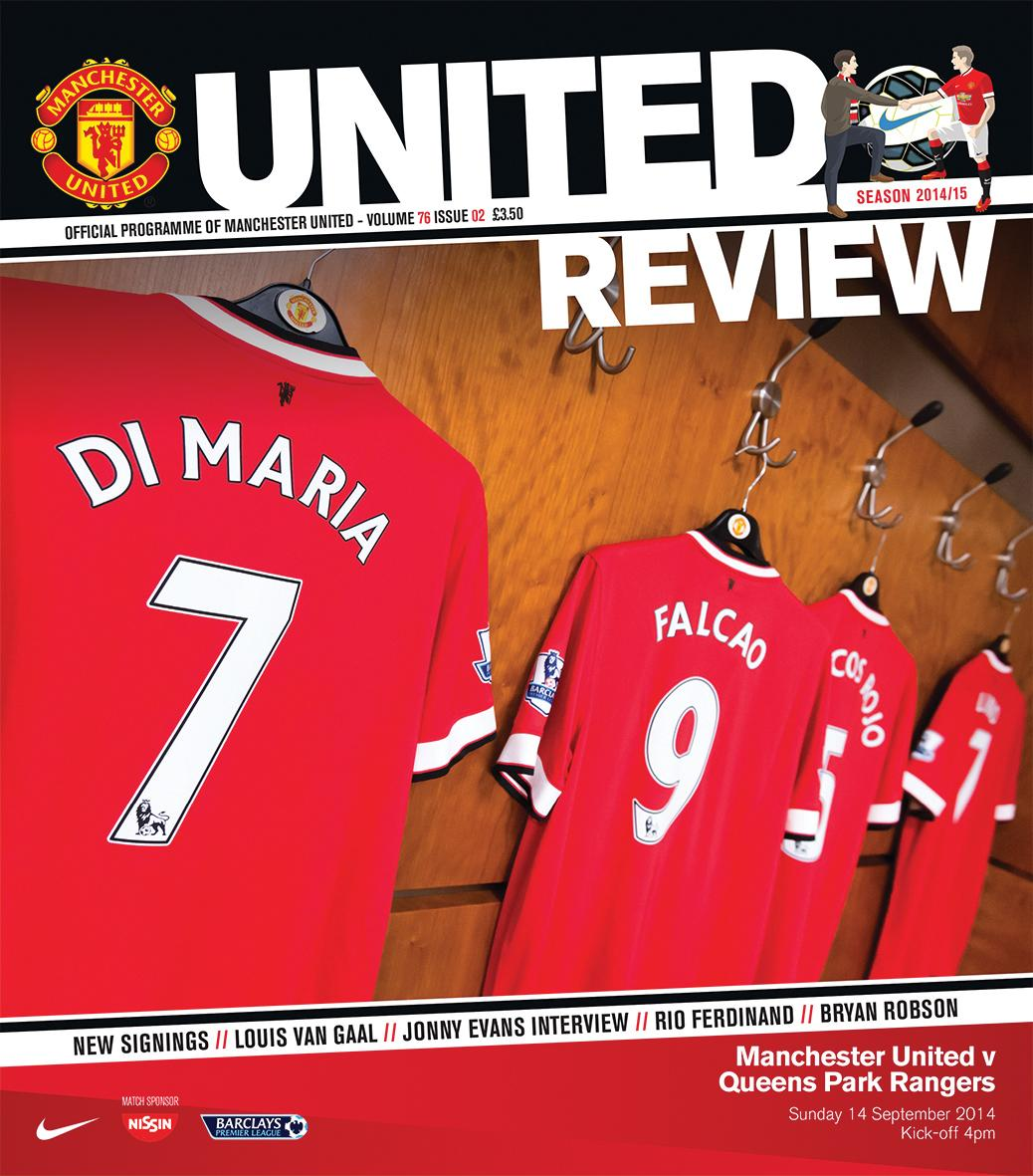 Sunday's matchday programme, United Review, features in-depth interviews with Jonny Evans and @RioFerdy5. http://t.co/lgxkrwM3P5