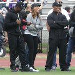 RT @mbfotog: #RayRice w/ wife Janay at #NewRochelle game. 1st public appearance since #knockout video. Check #lohud for updates. http://t.co/GU7w8GduaG