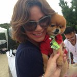"""@CountessLuAnn: Adorable @TitoThePom Doggie Pageant in Cape May @CapeResorts xo http://t.co/60hBolcd9C""fun day!"