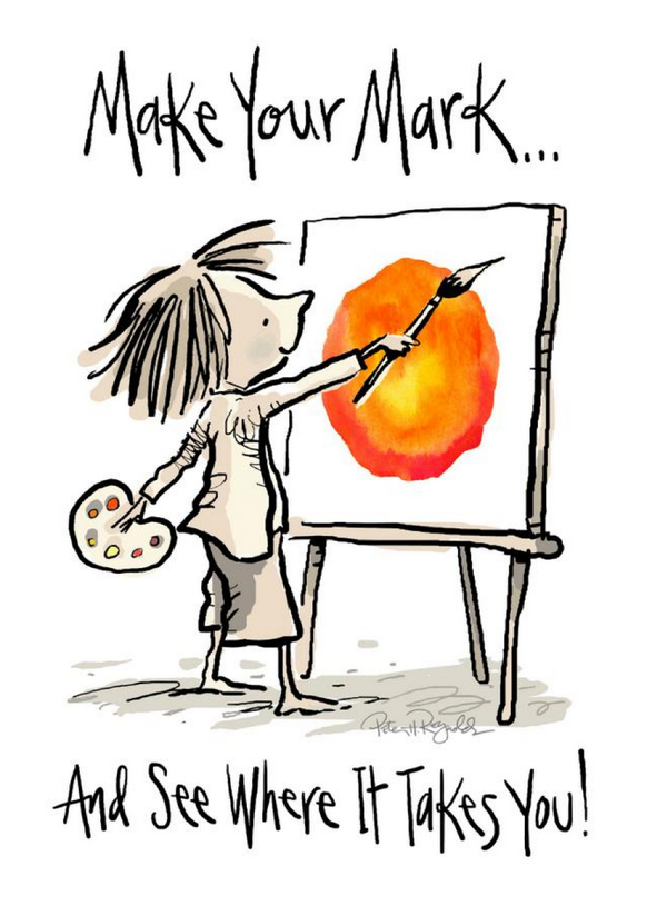 #MakeYourMark  :) Happy International #DotDay 2014! http://t.co/2CFogUnZlQ