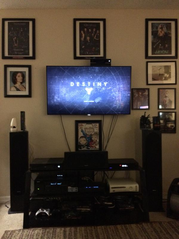 @OfficialCplus here's my #Destiny setup! Game time in 3..2..1..