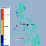 RT @nababaha: Rainfall amount in the Philippines for the past hour.