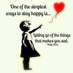 RT @Quotes4ur_life: One of the simplest ways to stay happy is letting go of the things that makes you sad.#Quotes http://t.co/wploxUaKcj