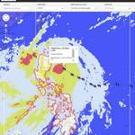 Latest position and forecast track of #LuisPH @nababaha