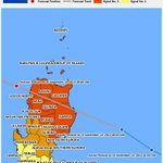 Provinces with storm signal warnings because of typhoon #LuisPH @nababaha