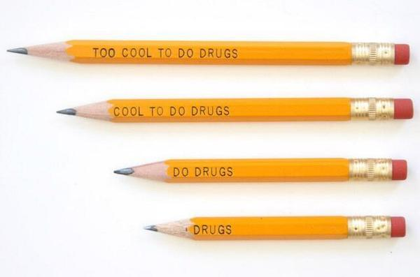 Conrad Hackett (@conradhackett): A 10 yr old noticed the problem with this pencil's message, prompting a full recall.  http://t.co/RgQ7Q8o2Ui http://t.co/vwkg87cBxV