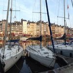 Image of honfleur from Twitter