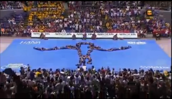 MT @DZMMTeleRadyo FINAL POSE: UP Pep Squad sa #UAAPCDC2014 http://t.co/WYxJ3iJ6hr #UPFight