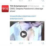 RT @deepikapadukone: Supposedly India's 'LEADING' newspaper and this is 'NEWS'!!?? http://t.co/D3wiVVXuyM