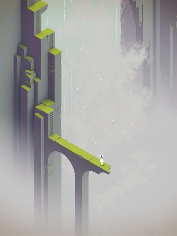 I can't actually put into words the feeling this gives me ~ a sneak peek at a new #monumentvalleygame level. http://t.co/Z9vkvPcIl3