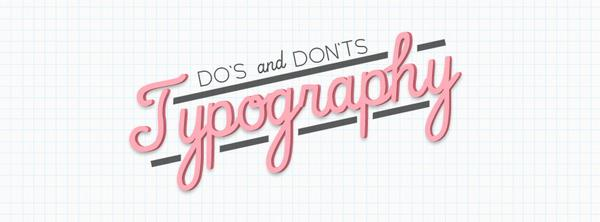 9 Do's and Don'ts of Typography. You may also use this image as your Facebook cover. :) http://t.co/UXf8baIAhO http://t.co/mfT4cAGJce