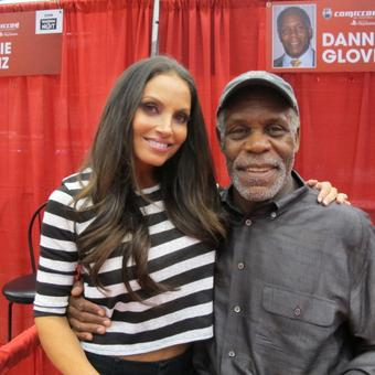 Trish Stratus @trishstratuscom: Look who I caught up with this weekend…  my #Gridlocked co-star @mrdannyglover. What a gentleman! http://t.co/aDHo1qbRwp