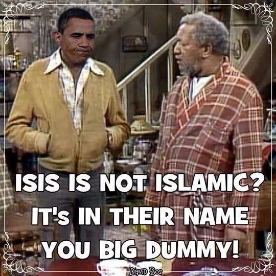 ISIS not Islamic?lol http://t.co/fDUOHzgHmg