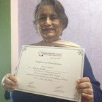 So moms just Gota participation certificate Ina seminar for docs! M a proud mom too http://t.co/5ScdOCgoWY