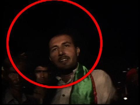 Gharidah Farooqi (@GFarooqi): PIC of PTI worker (2) who attacked Samaa TV camera man. http://t.co/9soV2AC0ib