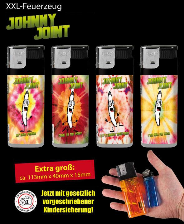 xxl feuerzeug johnny joint