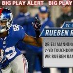 RT @LSUfball: Geaux @RuebenRandle! #LSUNFL RT @Giants: QB Eli Manning throws a 7yd touchdown pass to WR Rueben Randle! http://t.co/DBdzVbqkHR