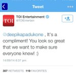 RT @NimratOfficial: Dear @TOIEntertain...with this 'compliment' , I shudder to think who this 'everyone' is you're reaching out to ? http:/…
