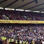 2,000 Derby fans at Nottingham Forest today. #dcfc http://t.co/akcyk2T4kX