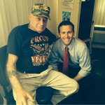 """RT @ChrisSprowls: Always good to see Pete- one of the stars of our """"Less Talk More Action"""" Commercial! TY Pete! #VeteranPete #FlaPol http://t.co/11aF2nOsZu"""