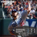 RT @Dodgers: Clayton Kershaw fires 8 strong as #Dodgers win series, increase lead over Giants. Recap: http://t.co/l9J5D7NGE0 http://t.co/dSrnh42oY5