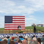 The #HarkinSteakFry is under way. http://t.co/KyJ3P2eMmG
