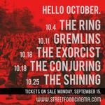 Hello October. Ready to Get Scared? Tickets On Sale Monday, September 15. http://t.co/4Br3VokQMx #LosAngeles http://t.co/WCXEWFyAxi