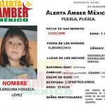 @elsoldepuebla1 #AlertaAmber Buscamos a CAROLINA FONSECA LÓPEZ 5años #Desap 1/1/13 #Puebla ¿La has visto? DIFUNDE http://t.co/eUIDSKN4aN
