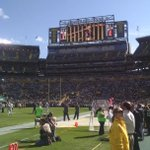 Lambeau Field really is a sight to behold. #Packers and #Jets kickoff in 40 minutes. http://t.co/wEkQrrHMuN