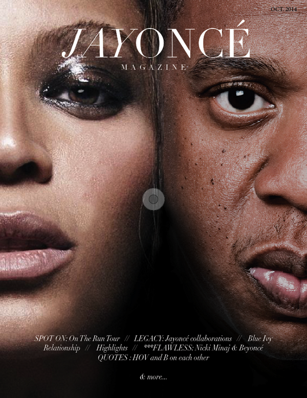 RT @YONCEMagazine: Because we noticed y'all would rather see the cover for issue #2 with brown eyes; here's the edited, now final cover! http://t.co/HdqKnAYJtg