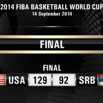 Go Team USA!   GOLD for the #USABMNT at #Spain2014!