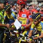 #Gracias #campeón @albertocontador dona los premios de la 16ª etapa de @lavuelta a la viuda del compañero fallecido http://t.co/JrBoPnh6Rx