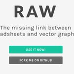 Raw is a service that quickly turns your spreadsheet data into visual representations http://t.co/k30NwyGXNK *DJ http://t.co/5q5ZHxoP79