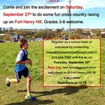 RT @365kingston: @IronStride invites #kingston area kids to the Youth XC #running Event. http://t.co/ngm6izPAVm http://t.co/UsKb8dguEU