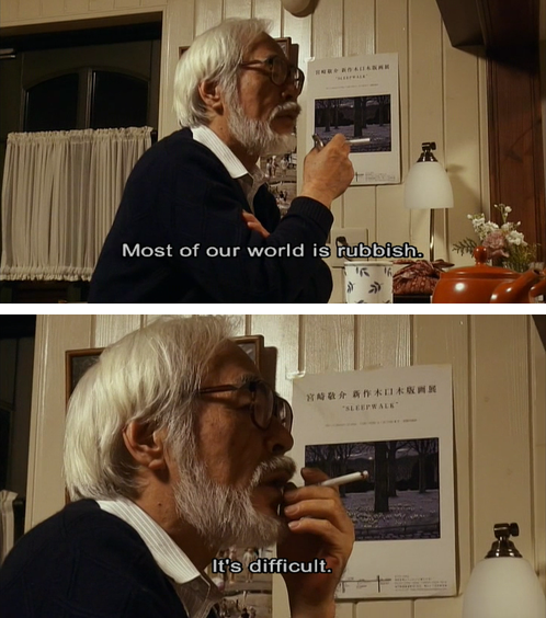 A harsh evening has passed for Sweden. Miyazaki will have to sum up the feelings for me. #dinröst http://t.co/zN0k3P8mQL