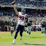 Stat of the Day: Through 2 weeks, J.J. Watt has more TD receptions than the St. Louis Rams. http://t.co/Ens69NBJ7b