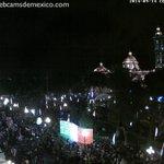 Así luce en estos momentos el Zócalo de la Ciudad de #Puebla. Vía @webcamsdemexico http://t.co/LyuED8yXha