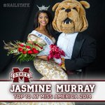 RT @HailState: Congrats to @JasmineSMurray on an outstanding job at Miss America! Your Bulldog family is proud of you! #HailState http://t.co/wQdm5xxRrG