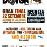 El 22/9 les bandes locals de TGN conquisten lescenari de la #CapsadeMúsica, @Satorimacc @TGNcultura @SantateclaTGN http://t.co/KLX4wQmy03