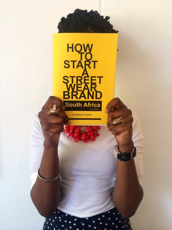 "Fashion-focused entrepreneurs:2x copies of @charlesjaymr 's ""How To Start a Streetwear Brand"" left at IG JHB-only R40 http://t.co/8zbt3hEsxa"
