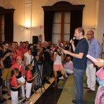 La Crida va homenatjar ahir #OriolGrau i els Teclers dHonor. http://t.co/62LCSM1NS0 #SantaTecla2014 #FandeSantaTecla http://t.co/W5pep0h2fC