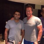 How can u do this to ur bro?!?!? #suriya with @Schwarzenegger
