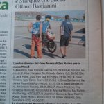 RT @mchoonia: In the Italian papers today. Our young turk Migno gettin a hug from his idol & mentor Valentino Rossi @anandmahindra