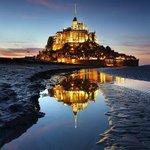 Monte Saint-Michel, Normandía. http://t.co/QK8T8dtEVM