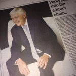 RT @DanJarvisMP: A real coup for @ChronOnline to have Sir Michael Parkinson coming in as guest editor of the Chron #Barnsleyisbrill http://t.co/l0UG0otzKn