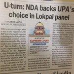 RT @Prerna_India: Ok. I am not NDA 2 - I am UPA3 & m master of U turn #YouGotAProblem ? http://t.co/DW20FbW66H