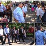 Saludo a estudiantes, turistas y oaxaqueñ@s que se alistan para celebrar el #15Septiembre en el Zócalo, ¡todo listo! http://t.co/4gVpEAtmpj